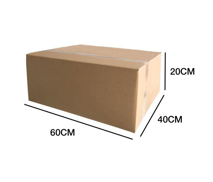 Caja Cartón DOBLE 60x40x20