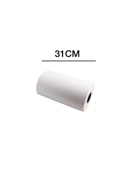 Bobina Papel Blanco 31 cm