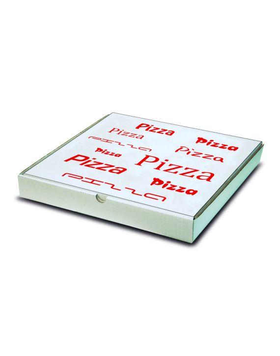 Caja Pizza BLANCA 32x32x4 cm Impresa