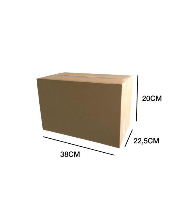 Caja Cartón SIMPLE 38x22.5x20