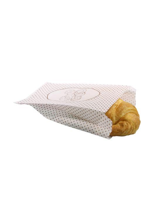 Bolsa Blanca 14+7x30 cm