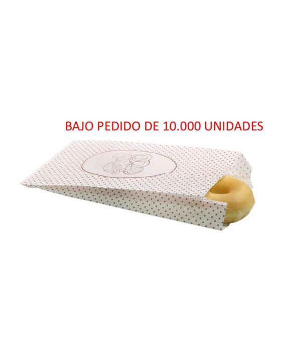 Bolsa Blanca 16+5x34 cm
