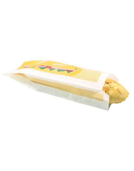 Bolsa Antigrasa 9+5x30 cm