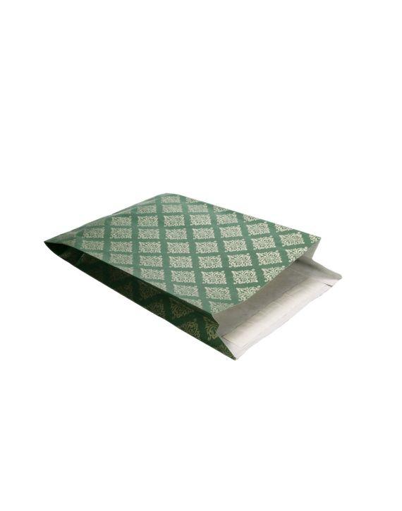 Sobre Regalo Trival Verde 24+8x38 cm