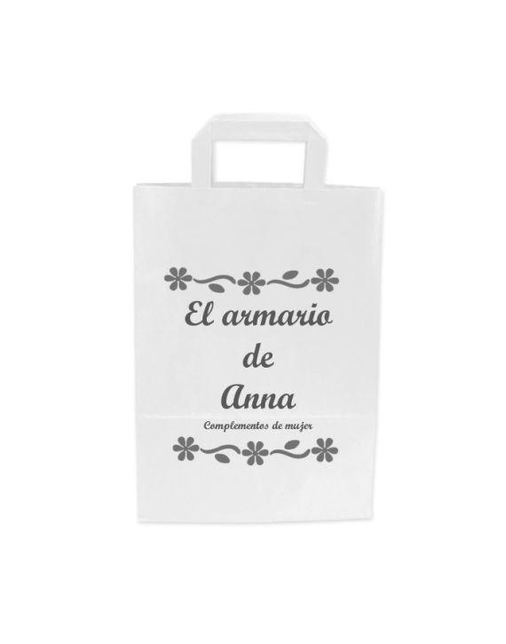 "Asa Plana Blanca ""M1"" 32+18x36 cm"